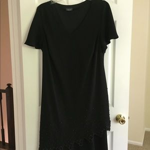 Women's Black Cocktail Dress